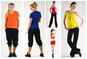 Одеваемся для занятий фитнесом